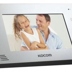 KCV-A374 spalvotas 7'' LCD monitorius telefonspynei, baltas