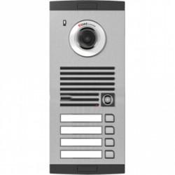 KVL-C304i keturių abonentų iškvietimo modulis, su spalvota video kamera.