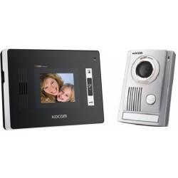 Kocom KCV-352 + KC-MC32 video telefonspynės komplektas, dvilaidė sistema.