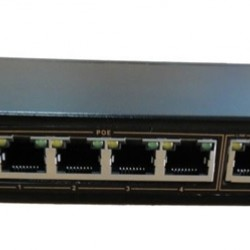 Komutatorius 6 Port 4 Poe PS106