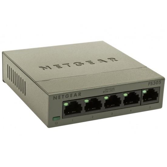 Komutatorius 5Port Netgear FS305