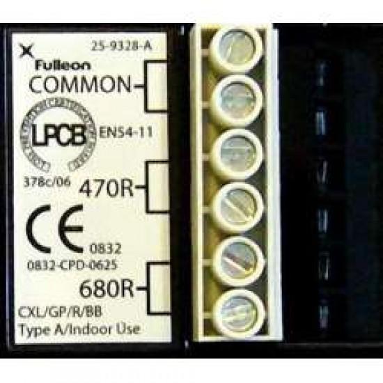 Gaisro pavojaus mygtukas CLX
