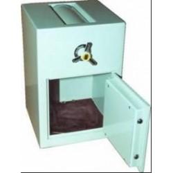 DR tipo seifai su įmetimo įtaisu