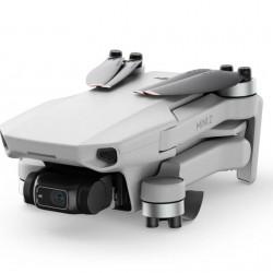 Dronas DJI Mini 2 Combo su papildomais aksesuarais