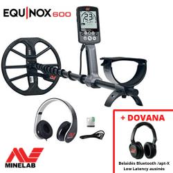 MINELAB EQUINOX 600 + DOVANA Belaidės ausinės!