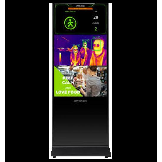 Hikvision skaitmeninis ekranas su stovu DS-D6043FL-B/S