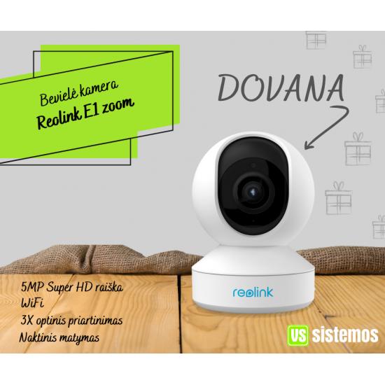 DOVANA - Reolink E1 zoom!