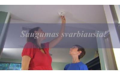 Pasirūpinkime namų saugumu per šventes