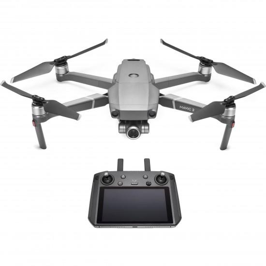 Dronas DJI Mavic 2 Zoom su išmaniuoju valdymo pultu