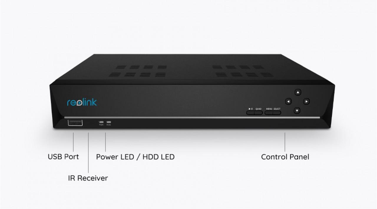 Reolink RLK8-820D4-A kamerų rinkinys 4K UHD formatu su apažinimo funkcija