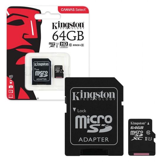 Atminties kortelė 64GB microSDHC
