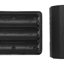Baterijos konteineris BPS 3xAA