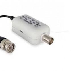 HSO-1F cctv galvaninis izoliatorius serija ECO su filtrų slopinimu ir BNC jungtimi - AHD, CVI, TVI kameroms