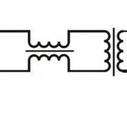 HST-1F cctv galvaninis izoliatorius ECO su filtrų slopinimu ir UTP jungtimi - AHD, CVI, TVI kameroms