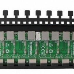 PTF-16R-EXT/PoE LAN plokštė su apsauga nuo viršįtampių