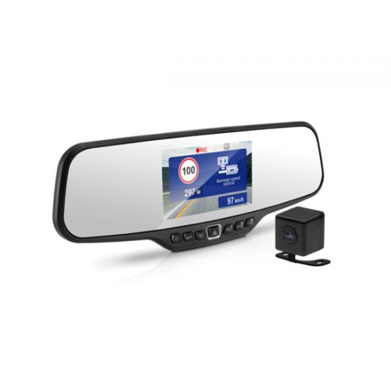 Registratorius veidrodyje ir galinio vaizdo kamera NEOLINE G-TECH X27