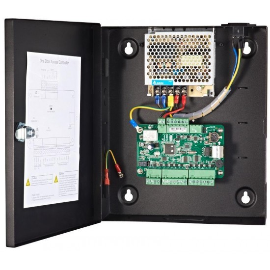 Hikvision Praėjimo kontrolė su darbo laiko apskaitos sistema