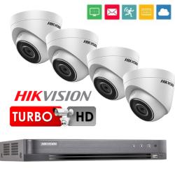 5Mpix 4-ių Turbo kamerų vaizdo stebėjimo sistema TurboKit1