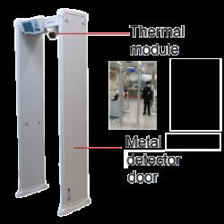 Detektorius su temperatūros matavimo kamera ISD-SMG318LT-F