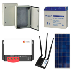 Autonominis saules energijos maitinimo rinkinys KIT1