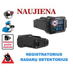 Vaizdo registratorius - Radarų detektorius Neoline X-COP 9100s