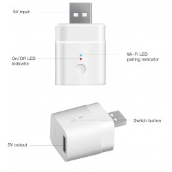 Sonoff Micro Išmanusis USB jungiklis valdomas per Wi-Fi