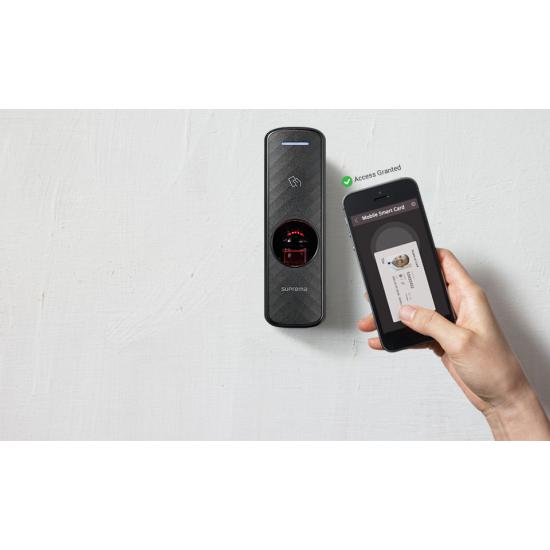 Biometrinis pirštų atspaudų ir kortelių skaitytuvas Suprema BioEntry P2