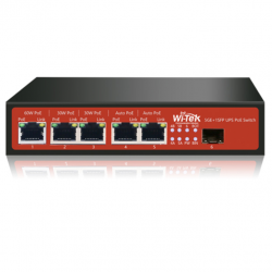 Wi-tek WI-PS306GF-UPS 24-48V komutatorius, 120W