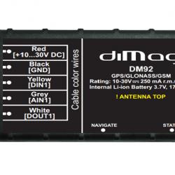 Mini GPS seklys diMag DM-92 (vidinė baterija)