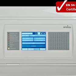 Adresinis gaisrinės signalizacijos valdymo pultas IRIS (pilkas)