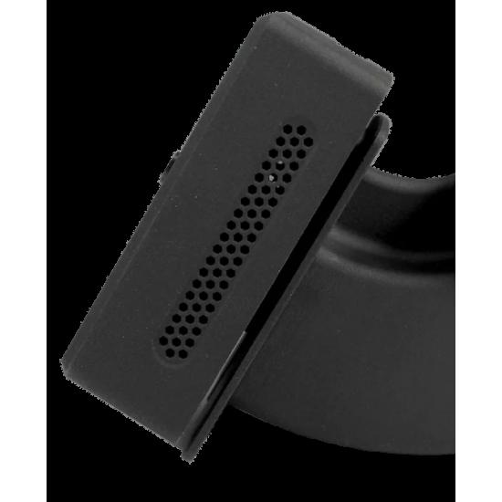 MultiSensor SmartXcan bekontaktis kūno temperatūros matavimo įrenginys su LAN (PoE), juodas
