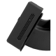 MultiSensor SmartXcan RFID kūno temperatūros matavimo įrenginys su LAN (PoE), juodas