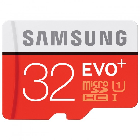 Atminties kortelė Samsung EVO+ 32GB microSDHC