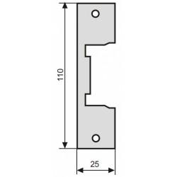 Elektromagnetinės sklendės montavimo plokštelė, 110 mm.