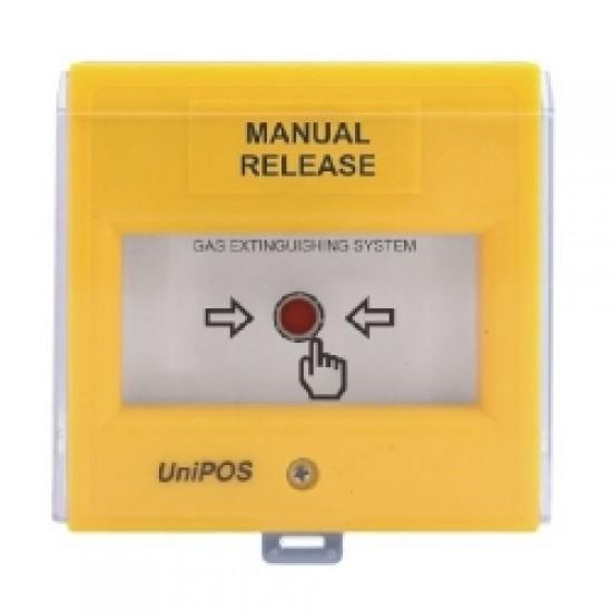 FD3050Y UniPos rankinio gesinimo paleidimo mygtukas