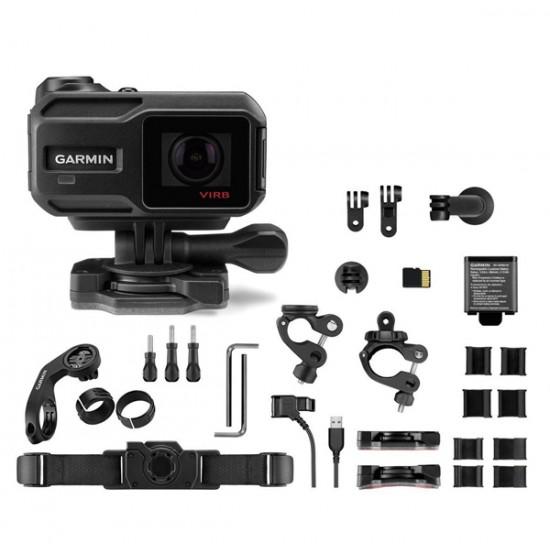 Veiksmo kamera Garmin VIRB XE+ komplektas dviračių sportui